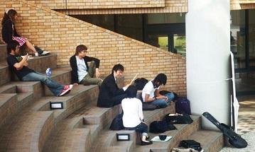 Японские студенты изучают язык и культуру России