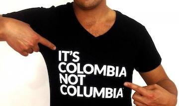 Это Колумбия, а не Коламбия!